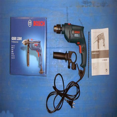 Bosch Mesin Bor Tembok Set Gsb 1300 harga jual bosch gsb 1300 mesin bor tembok professional