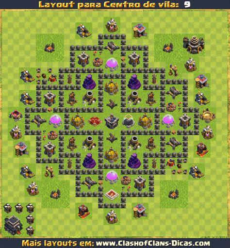 layout para cv 9 layouts para cv9 em clash of clans atualizados clash