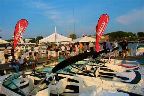 boat show in michigan michigan city in water boat show opens thursday laporte