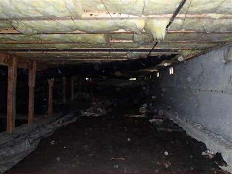 rainy day basement systems crawl space repair before and