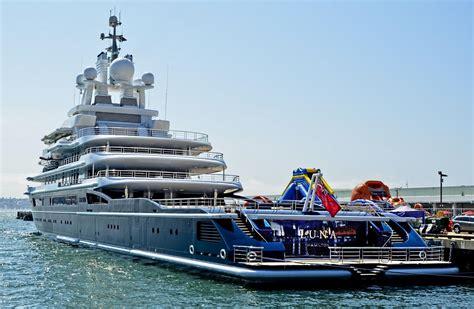 yacht luna 540 million yacht of u s blacklisted russian oligarch
