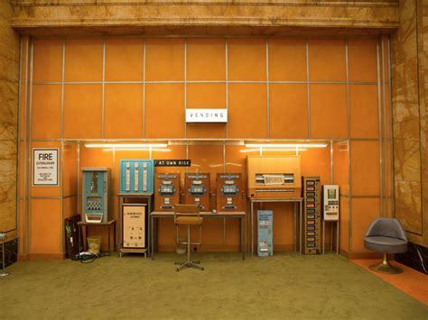 Interior Design Inspiration By Wes Anderson