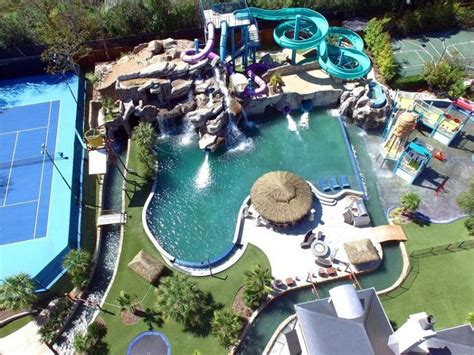 backyard water park dream home with backyard water park in dallas is on sale