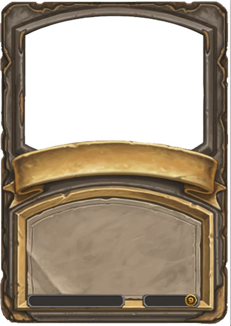hearthstone gold card template with a photoshop and a hearthstone card template i