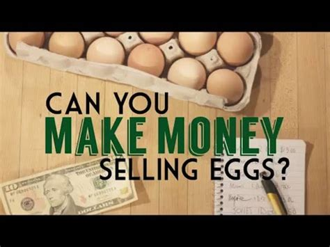 can you make a money order with a credit card can you make money selling eggs from your small farm