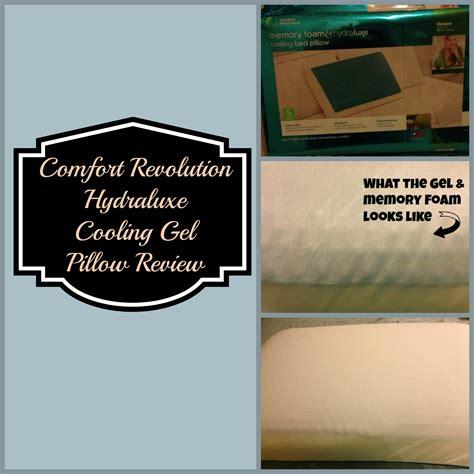 comfort revolution reviews comfort revolution hydraluxe cooling gel pillow review