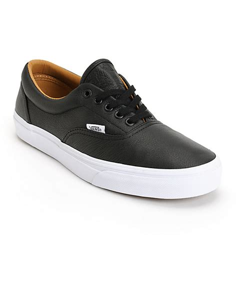 vans era premium leather skate shoes mens at zumiez pdp
