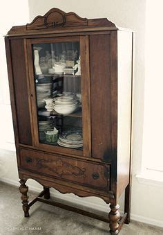1000  images about Old China Cabinets on Pinterest   China cabinets, Antique china cabinets and