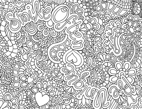 Difficult Abstract Coloring Pagesfree Coloring Pages For Abstract Coloring Page