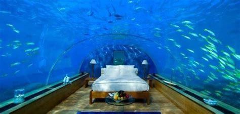 underwater bedroom in maldives sleep underwater in hilton maldives resort spa rangali