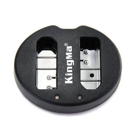 Kingma Dual Battery Charger For Coolpix A Nikon J1 J2 J3 S1 En El20 1 kingma bm015 enel14 battery charger for nikon d3100 d3200