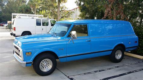 1968 chevrolet c 10 panel truck classic chevrolet c 10