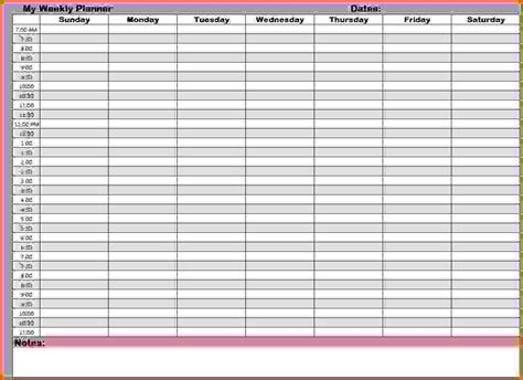 weekly calendar template word tempss co lab co