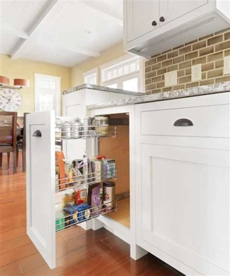 kitchen corner cabinet options corner cabinet and pullout options that maximize space