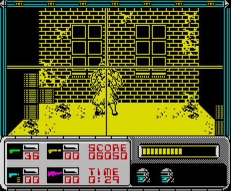 emuparadise zx spectrum robocop 1989 ocean software 128k rom