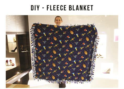 diy blanket diy my tie fleece blanket the style edit