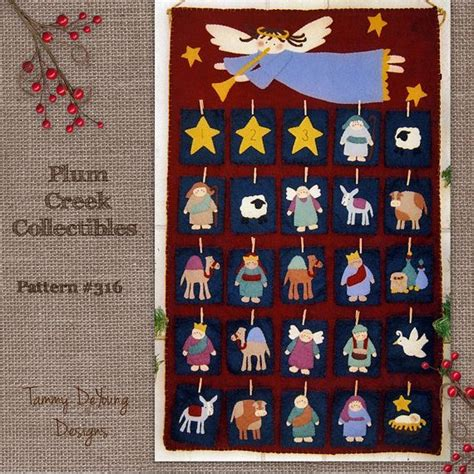 pattern felt nativity 29 best sewing patterns by plum creek tammy deyoung images