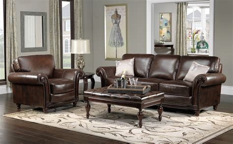 Living Room With Brown Leather Sofa Why Brown Leather Sofa Living Room Designs Ideas Decors