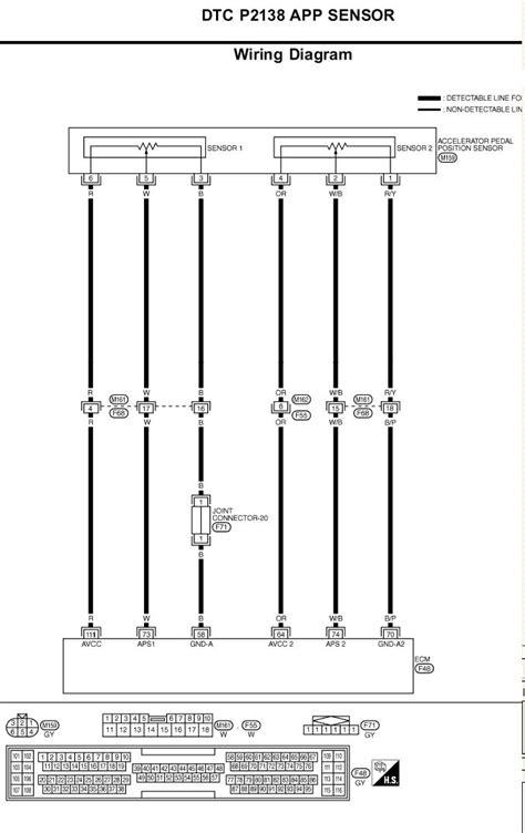 accelerator pedal wiring diagram sentra spec v 2003 51