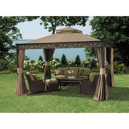 living home gazebo garden winds replacement canopy top for 10 x 12 living