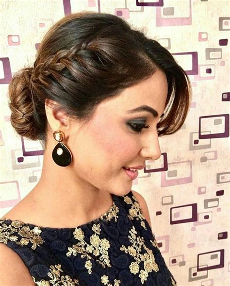 Indian Wedding Hairstyles For Shoulder Length Hair by Best 25 Indian Hairstyles Ideas On Indian
