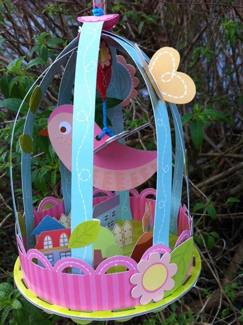 garden crafts to make make your own twee bird cage garden craft from past times