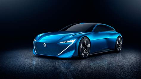 peugeot concept 2017 peugeot instinct concept 4k wallpaper hd car