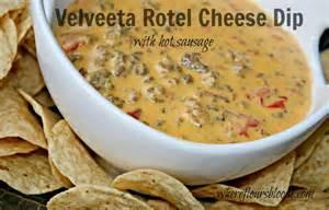 velveeta rotel cheese dip crock pot pinterest