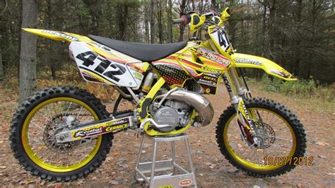 2001 Suzuki Rm 250 2001 Rm 250 Ajl12 Motocross Pictures Vital Mx