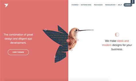 screen layout design exles 20 exles of vertical split screen layout in web design