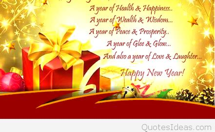 image gallery new year card sayings