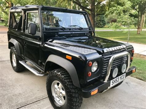 how petrol cars work 1994 land rover defender 90 seat position control beluga black 1994 land rover defender 90 5 speed for sale on bat auctions sold for 37 500 on