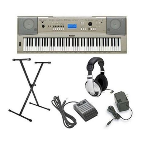Headphone Untuk Keyboard Yamaha yamaha ypg 235 keyboard package grey with headphones