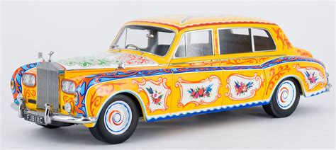 paragon releases 1 18 lennon s psychedelic rolls