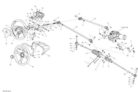 can am parts diagram 2013 factory power steering upgrade can am commander forum