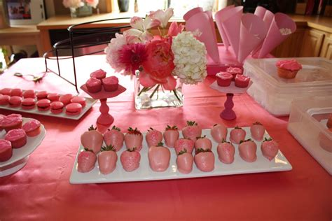 pretty in pink bridal shower favors affairs pretty in pink bridal shower