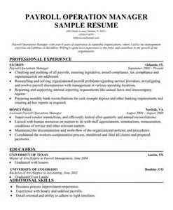 payroll manager resume sle 100 sle resume office clerk censorship wrong