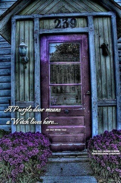 purple door meaning purple door means a witch lives here wicca pinterest