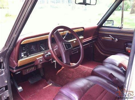 1987 jeep wagoneer interior 1987 jeep grand wagoneer