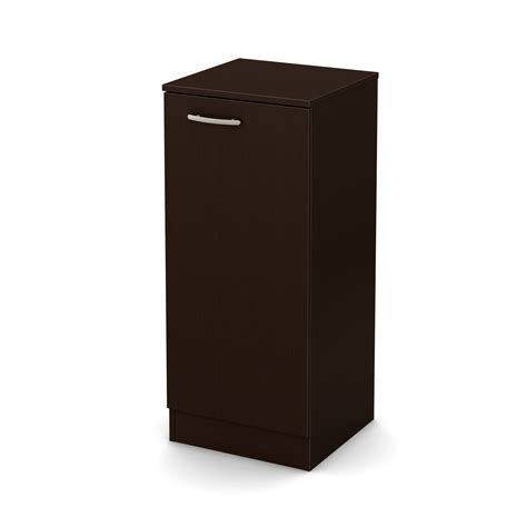 Narrow Storage Cabinet South Shore Axess Narrow Storage Cabinet Chocolate Home Storage Organization Closet