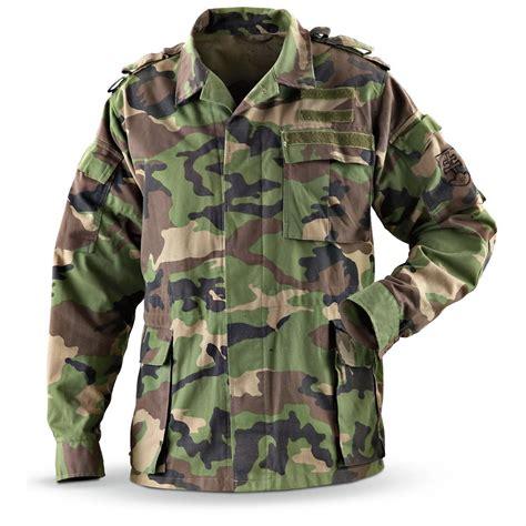 army pattern coats used slovakian military jacket camo pattern 140099
