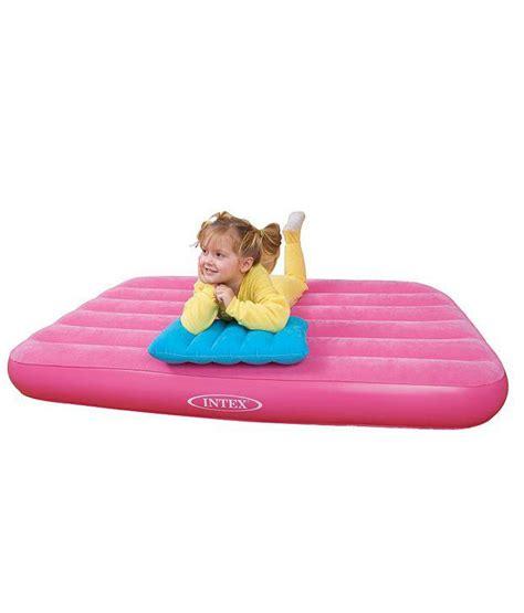 Intex Toddler Air Mattress by Intex Pink Air Bed Buy At Best