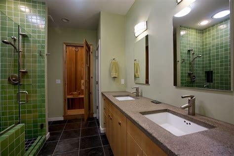 spa  master suite bathroom  sauna contemporary