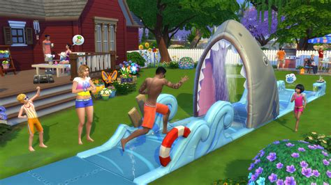 the backyard pack backyard stuff pack sims 4 live stream recap simcitizens