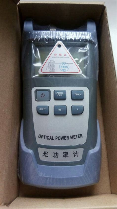 Jual Alat Test Fiber Optic jual gadget jual optical power meter alat pengukur daya
