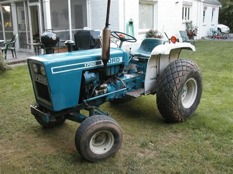 ford 1700 tractor ford 1700 specifications
