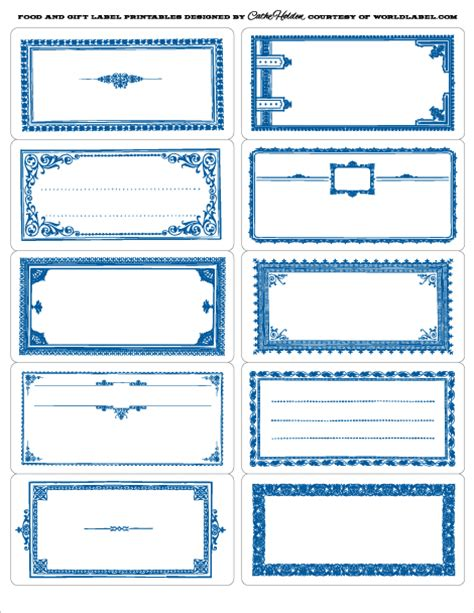 free printable gift labels and tags worldlabel food gift labels by cathe holden worldlabel