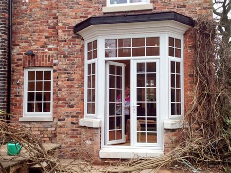 Fitting Patio Doors Turn A Bay Window Into Doors Search Porch Window Fitting