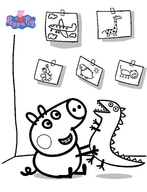 peppa pig at the beach coloring pages kids n fun com 20 coloring pages of peppa pig