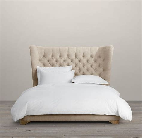 restoration hardware upholstered bed churchill upholstered framed bed upholstered beds